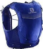 SALOMON ADV Skin 12 Set Bolsa de hidratación, Adultos Unisex, Clematis Blue/Ebony (Multicolor), XS