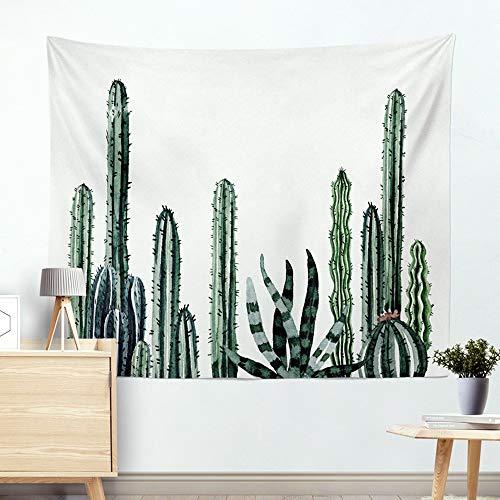 Miguor Dacron-Tuch aus Polyesterfaser, Kaktus, Sukkulenten, Wandteppich, Strandtuch, Decke, Heimdekoration, Dacron, 1. Kaktus-Säule., 200*150cm