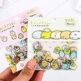 Netter Kawaii transparente PVC-Aufkleber Tiere Dekorative Adhesive Aufkleber für koreanische Sticker 1pc