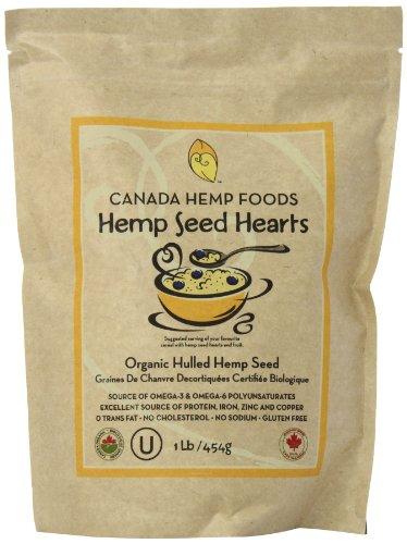 Canada Hemp Foods Organic Hemp Seeds, 454 Grams