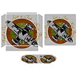 Firefly Find A Crew Get A Job Keep Flying Compatible with PS4 Slim controller and console skin sticker protective cover wireless/wired gamepad controller
