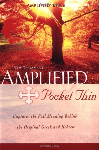 Amplified Pocket -Thin New Testament