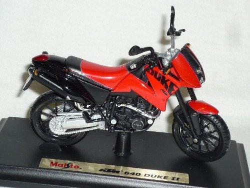 Maisto K-T-M 640 Duke 2 ii Rot Mit Sockel 1/18 Modellmotorrad Modell Motorrad