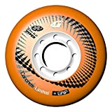 Hyper Concrete G Limited - Ruedas para patines en línea, 80 mm, color naranja (4 unidades)