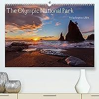 The Olympic National Park - Washington USA (Premium, hochwertiger DIN A2 Wandkalender 2022, Kunstdruck in Hochglanz): Der Olympic National Park ist UNESCO Biosphaerenreservat und Weltnaturerbe und bietet in einer einzigartigen Art und Weise wie unberuehrte Natur erlebt werden kann. (Monatskalender, 14 Seiten )
