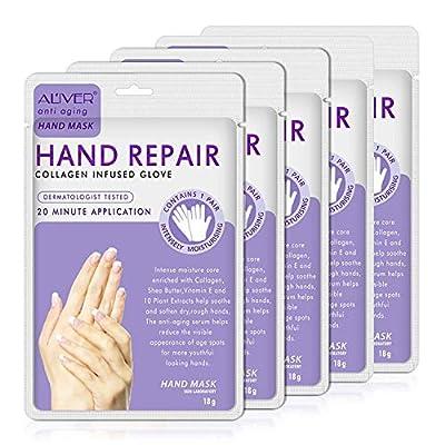 Moisturizing Gloves Hand Mask Gloves Overnight Bedtime 5 Pack