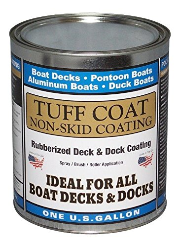 TUFF Coat UT-100 SR Smooth Texture 1 Gallon Non-Skid Coating, White