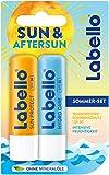 Labello Sun & Aftersun Lippenpflegeset (2 x 5,5...