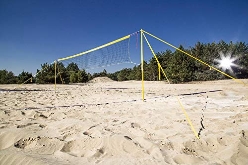Beach Voleibol Tiempo Libre MÓVil Anlage aluminio 8,5m longitud de red