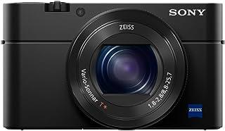 سوني سايبر شوت كاميرا صغيرة ، 20.4 ميجابكسل ، 4K ، 960 اطار في الثانية ، اسود ، DSC-RX100M4
