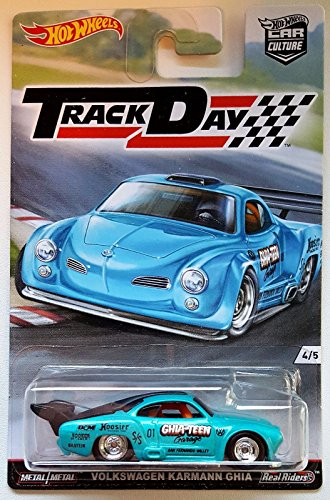 Hot Wheels Car Culture Real Riders Track Day 4/5 - Volkswagen Karmann Ghia