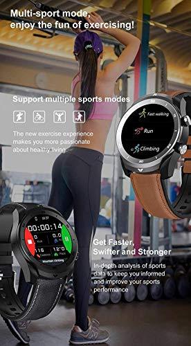 wyingj Reloj Inteligente de los Hombres IP67 Impermeable Bluetooth Llamada 560Mah Gran Batería Monitor Smart Watch-Di