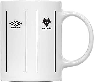 Wolverhampton Soccer Jersey Retro 1979-82 Wanderers Mug