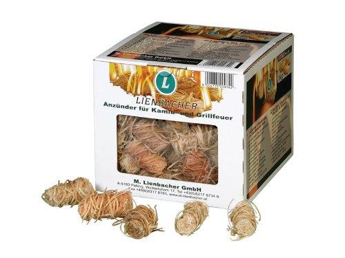 Lienbacher - Lana de madera para encender parrillas y chimeneas
