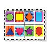 Melissa & Doug- Shapes Chunky Juego Puzzle con 8 Piezas, 2-4 Años, Multicolor (13730) , color/modelo surtido