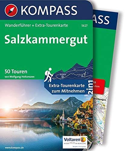 KOMPASS Wanderführer Salzkammergut: Wanderführer mit Extra-Tourenkarte 1:55.000, 50 Touren, GPX-Daten zum Download