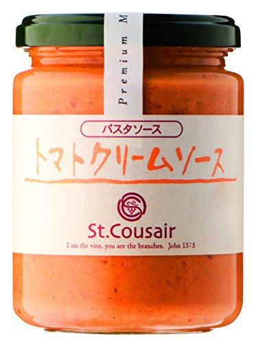 サンクゼー パスタソーストマトクリームソース 瓶220g