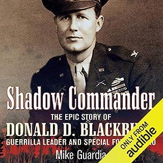 Shadow Commander audiobook cover art