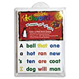 Barker Creek Learning Magnets, Magnetic Kidwords, Teachers' Choice Award Winner, High-Frequency Words Color-Coded for Parts of Speech Plus Punctuation Marks, 208 Magnetic Pieces in Set (2600)