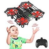 Mini Drone for Kids and Beginners, Hands Free Operated Drone RC Helicopters Headless Mode and 3D Flip, Easy Indoor Outdoor Flying Drone Toys for Kids 8-12 and Up Years Boys and Girls Gift