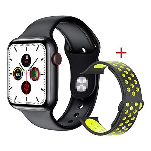 Leisont W26 Reloj Inteligente 6 Hombres Mujeres ECG PPG Monitor de frecuencia cardíaca Bluetooth Llamada Ip68 Impermeable Temperatura Corporal Smartwatch 2020 China Negro Negro Verde