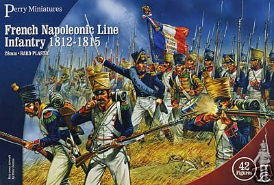 Perry Miniatures French Napoleonic Line Infantry 1812-1815