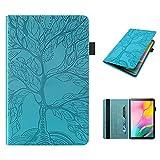 Tedtik Funda para Huawei T10 T10s 10.1'Funda Delgada a Prueba de Golpes con Función de Soporte para Huawei Matepad T10 T10s 10.1 Pulgadas Tablet 2020 Lifetree - Azul