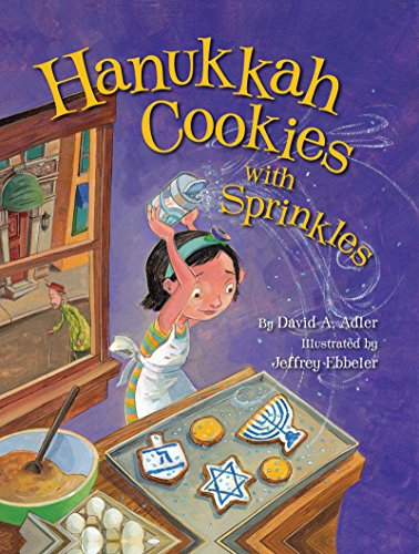 Hanukkah Cookies with Sprinkles