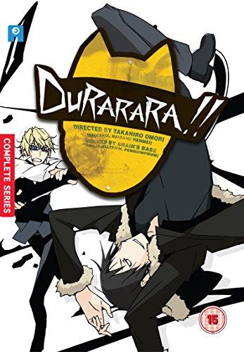 デュラララ!! 第1期 コンプリート DVD-BOX (全24話+未放送, 600分) 成田良悟 アニメ [DVD] [Import] [PAL, 再生環境をご確認ください]