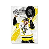 YYAYA.DS Poster Wandbilder Sidney Crosby Poster Pittsburgh