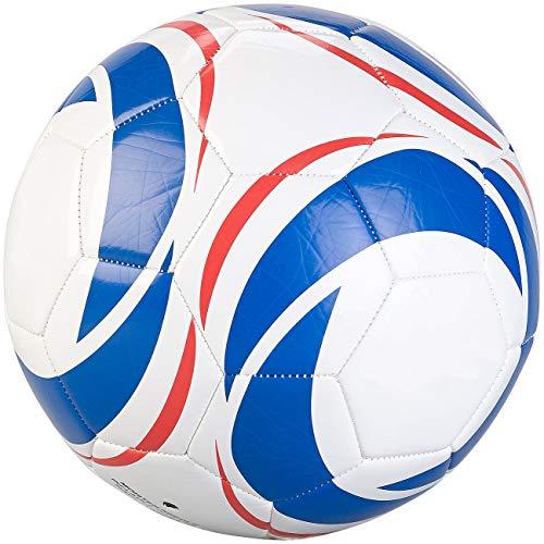 Speeron Fußball-Spielball: Trainings-Fußball aus Kunstleder, 22 cm Ø, Größe 5, 440 g (Soccerballs)