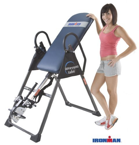 Product Image 11: IRONMAN Gravity Highest Weight Capacity Inversion Table with Optional No Pinch AIRSOFT Ankle Holder, (l x w x h):49.00 x 26.00 x 65.00 in, 5402