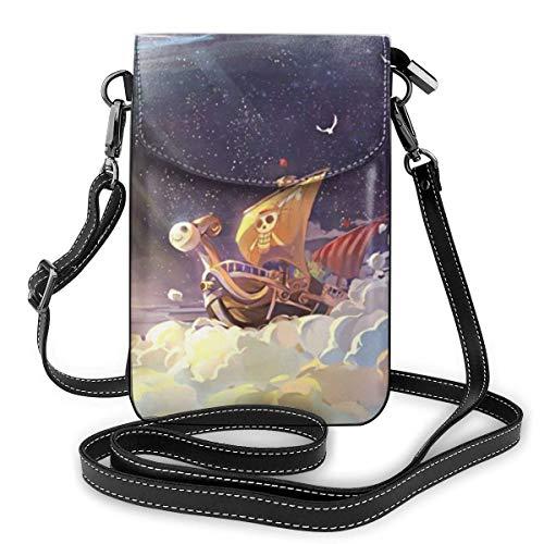 Anime Boot Leichte kleine Umhängetaschen Leder Handy Geldbörsen Reisetasche Umhängetasche Brieftasche Mit