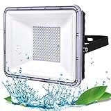 100W Focos LED Exterior, YIQIBRO 10000LM 6500K Blanco Frío Foco LED...