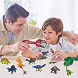 Dinosaur Toys - 14pcs Educational Realistic Dino Toy, Create Dinosaurs World for 3 4 5-14 Years Old Boys & Girls,...
