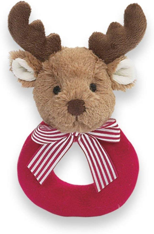 Bearington Baby Lil' Reindeer Rattle B004A9EGTS  Lebendige Form       Billig