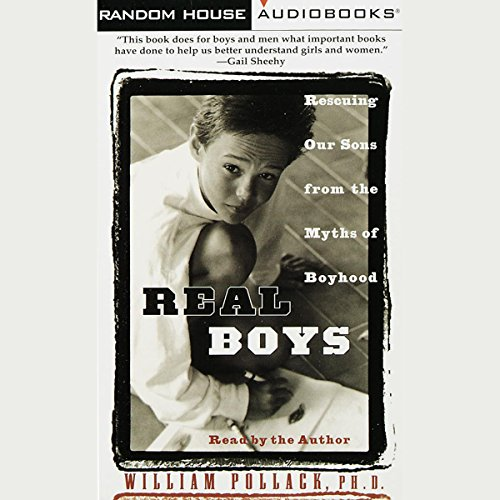 Real Boys audiobook cover art