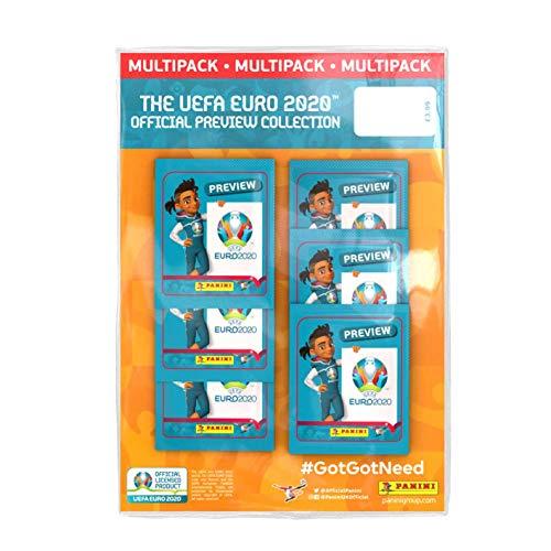 Panini Euro 2020 Vorschau-Sticker
