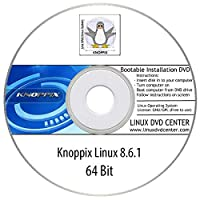 KNOPPIX Linux 8.6.1 Live (64Bit) - Bootable Linux Installation DVD