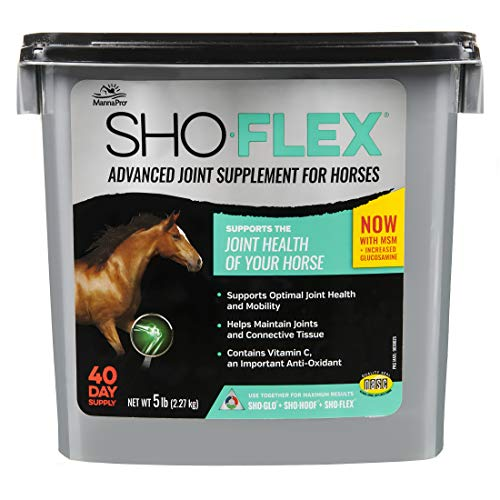 Manna Pro Sho-Flex | Advanced Joint Supplement for Horses | 5 Pounds