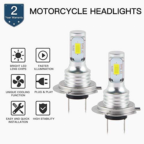Joyfulstore- Motorcycle 100W Led Headlight Bulb Lamp For Bmw S100Rr R1200Gs K1300R K1300S K1200R/Rs/Gt F800R F800Gs F700Gs F650Gs C650Gt C600
