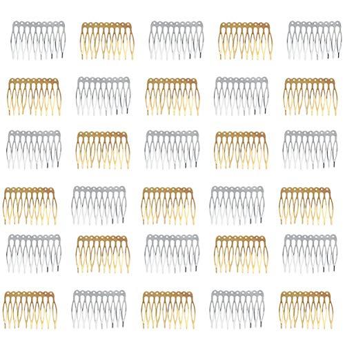 Lurrose - Peinetas de aleación para el pelo (30 unidades)