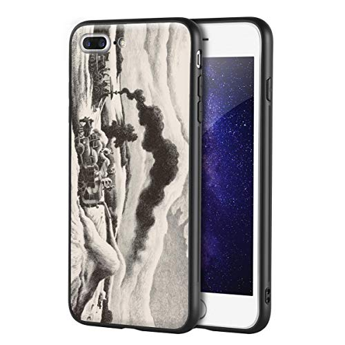 Thomas Hart Benton Custodia per iPhone 7 Plus&iPhone 8 Plus/Custodia per Cellulare Art/Stampa giclée UV sulla Cover del Telefono(Trilla)