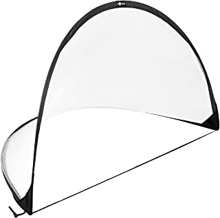 ULTIMAX Soccer Goal Folding and Portable, for Indoor, Outdoor, Garden 4 Foot Instant Pop Up Football Goal Nets for The Bea...