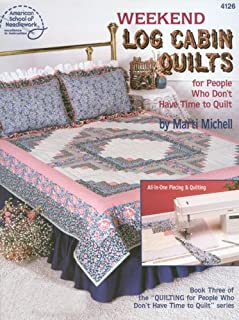 Weekend Log Cabin Quilts/4126