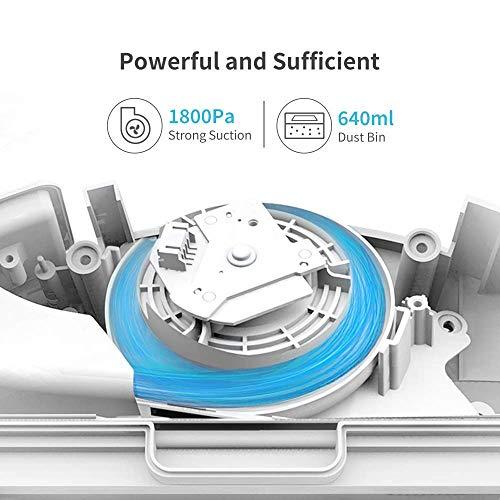roborock Xiaowa E20 Saugroboter mit Wischfunktion und APP-Steuerung, staubsauger Roboter mit automatischer Teppichmodus für Tierhaare, Teppiche und Hartböden (Generalüberholt) - 5