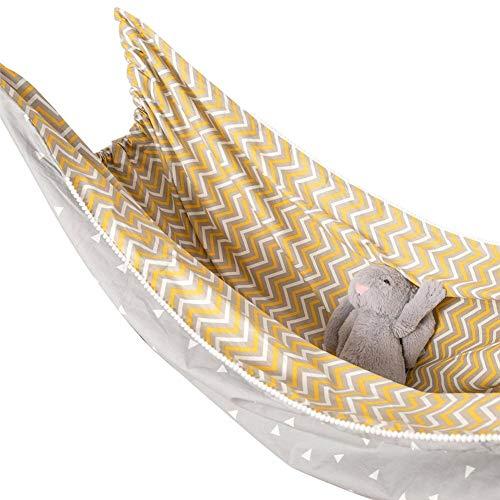 Ardentity Hangmat voor kinderen, outdoor, camping, buiten, draagbaar, van zeildoek, geschikt voor hangmatten aan boom, zwak voor kinderen