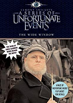 Paperback The Wide Window, Movie Tie-in Edition (A Series of Unfortunate Events, Book 3) Book