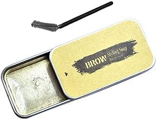Eyebrow Styling Soap Gel, 3D Feather Brows Shaping Cream, Eyebrow Extension Gel Long Lasting Waterproof Natural Eye Brow Makeup
