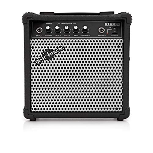 15W Electric Bass Practice Amp by Gear4music